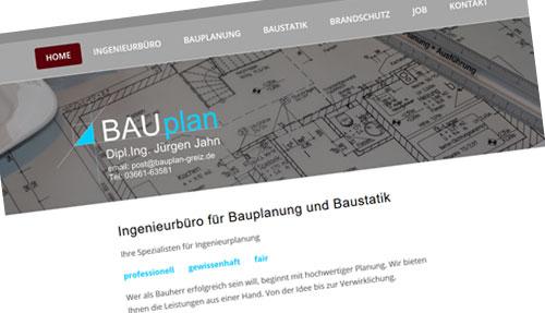 Bauplan Greiz - Ingenieurbüro Jürgen Jahn