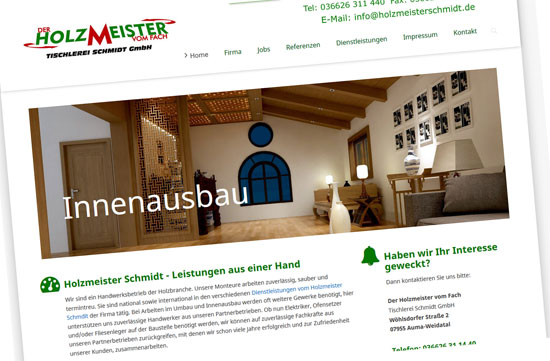 Tischlerei Gmbh Holzmeister Schmidt