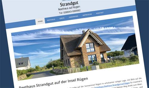 Ferienhaus auf Rügen an der Ostsee
